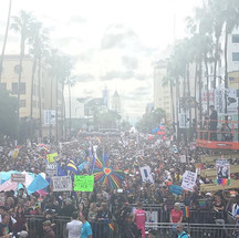 LA Pride March #lapride2k17