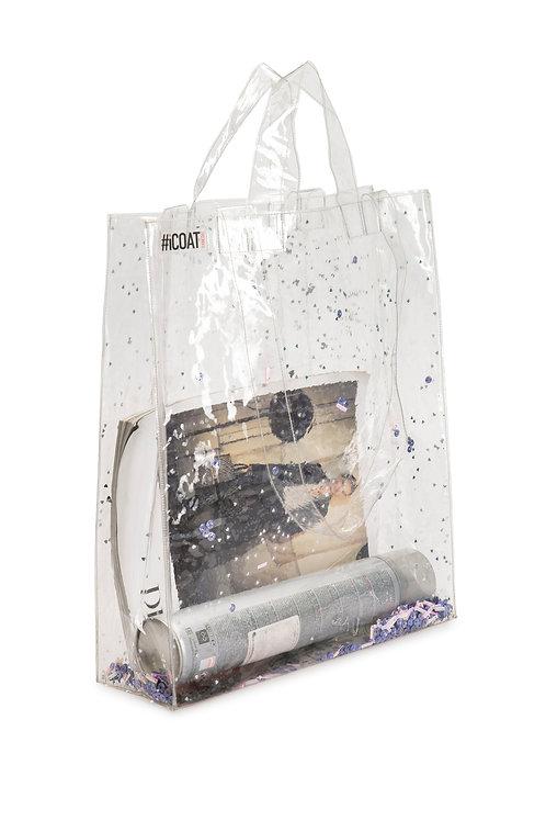 Shopper bag with glitter. €35