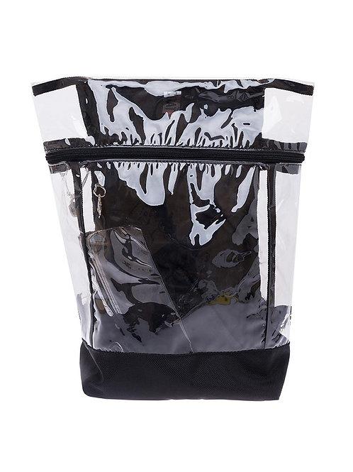 Рюкзак с прозрачными вставками