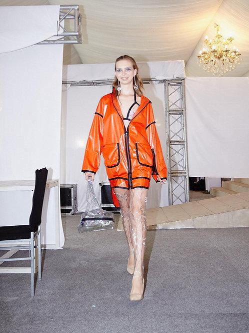 Куртка из плащевки (orange)