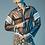 Thumbnail: Куртка из плащевки (black-white)