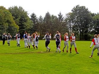 Siegreicher Saisonabschluss für die Softballerinnen