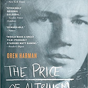 The Price of Altruism and Oren Harman