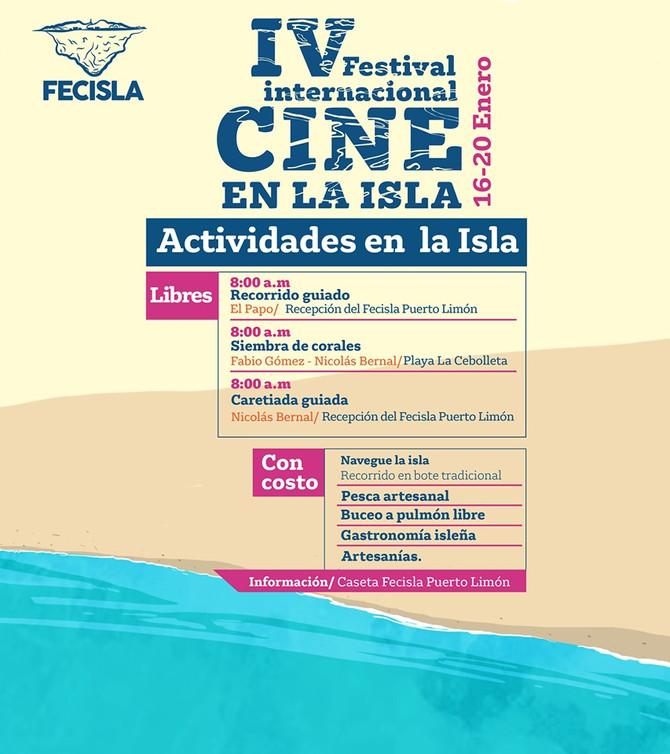 IV Festival Internacional CINE EN LA ISLA