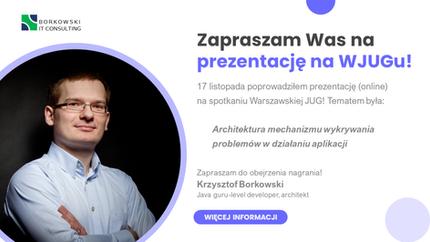 Prezentacja na spotkaniu Warszawskiej Java User Group