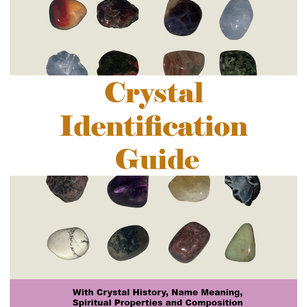 Crystal Identification Guide