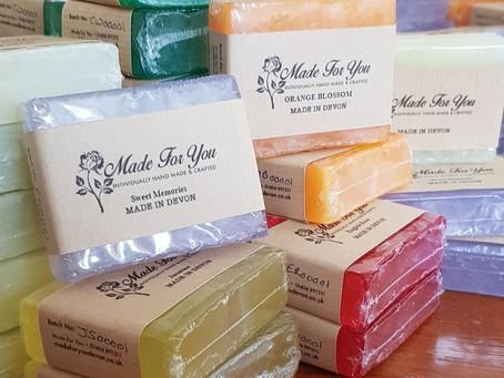 NEW RANGE: Glycerine Soap