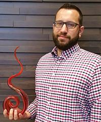 Ryan Mills Receives Fire Starter Award!