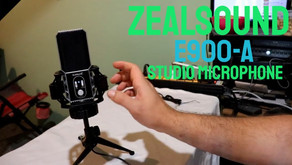 Zealsound E900-A Studio Microphone Unboxing/Sound Test