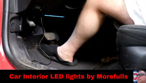 Car Interior LED lights by Morefulls