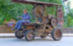 Dokumentarfilm - Holzsäger unterwegs - Holzsägehackmaschine