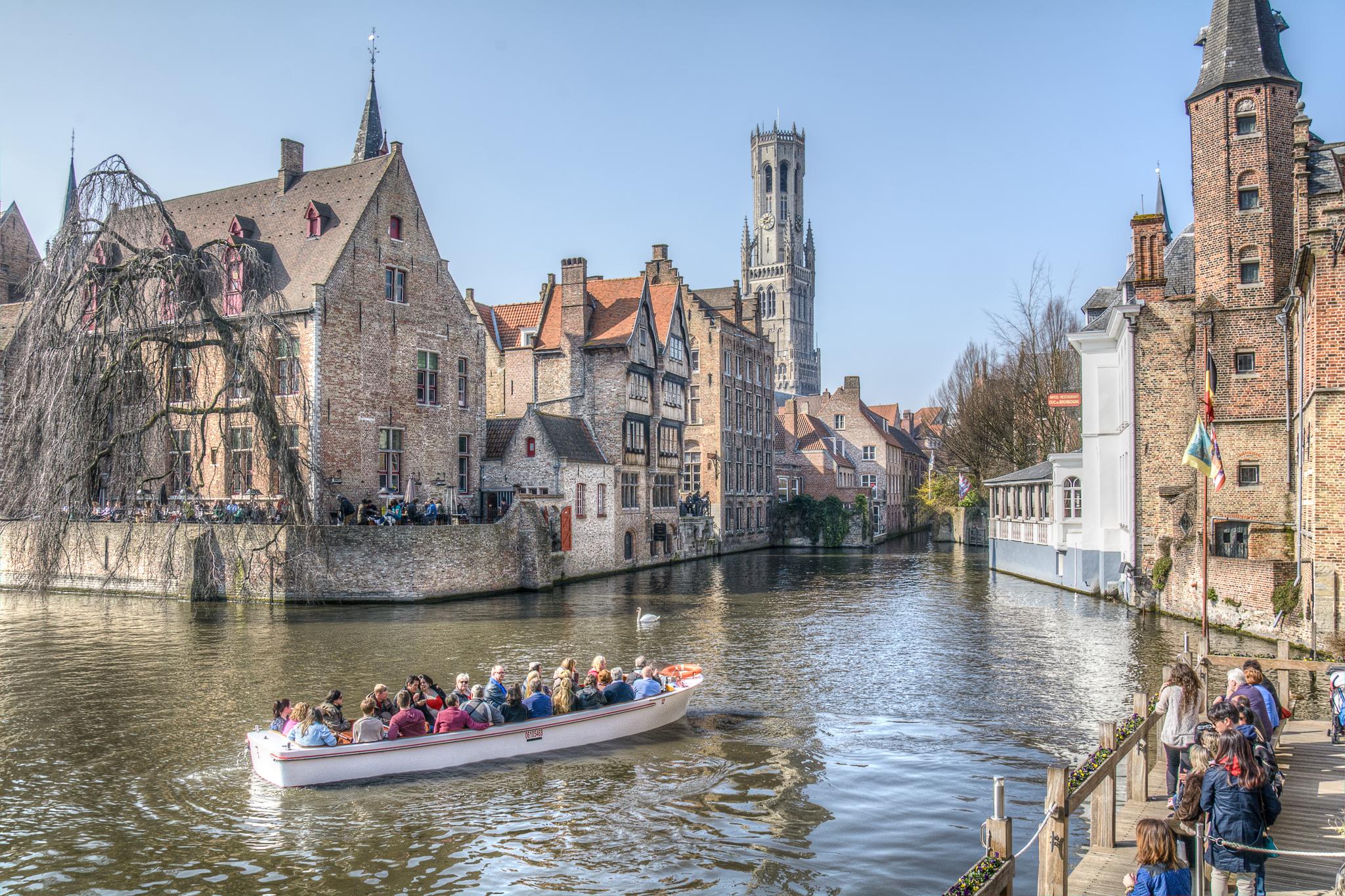 Dijver, Bruges