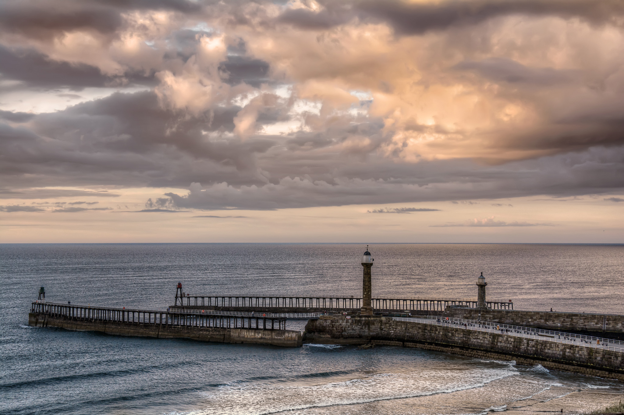 Evening over Whitby