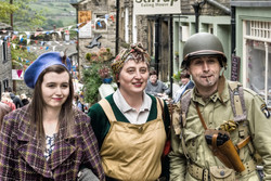 1940s weekend, Haworth