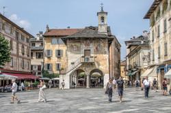 Piazza Motta, Orta san Giulio