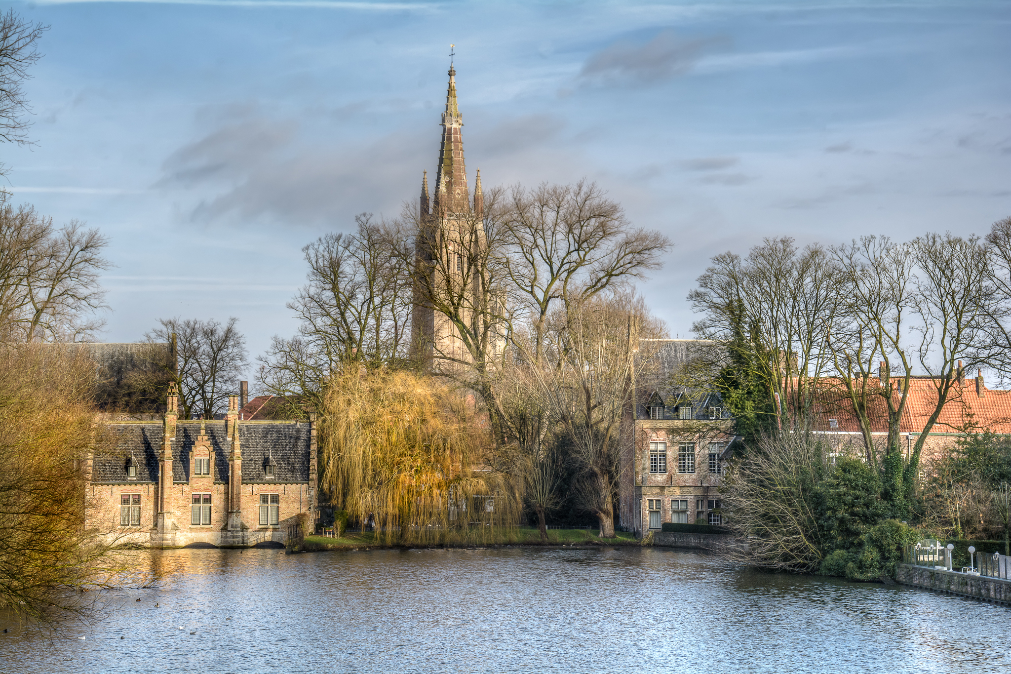 Minnewaterpark, Bruges
