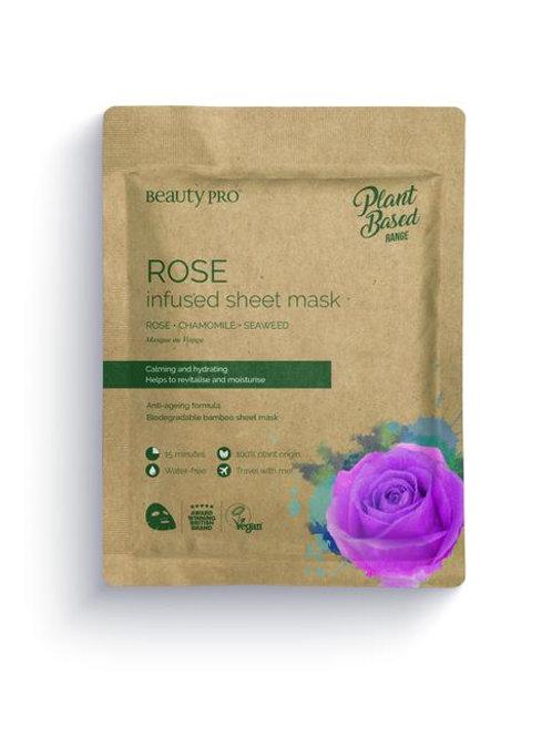 ROSE Infused Sheet Face Mask
