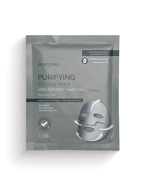 PURIFYING 3D Clay Mask with Activated Charcoal