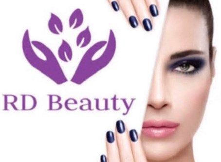 RD Beauty's new website www.rdbeauty.co.uk