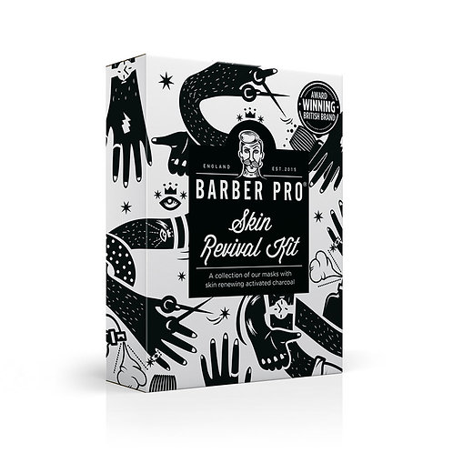 BARBER PRO SKIN REVIVAL Kit