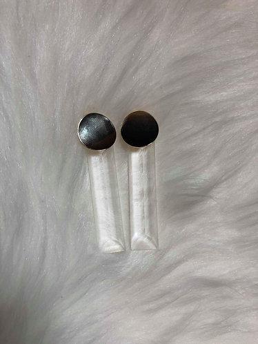 Lucite Bar Earrings