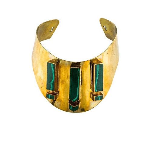 Pamela Love Malachite Choker Necklace