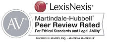 Martindale-Hubbel AV Peer Review Rated for Ethical Standards and Legal Ability