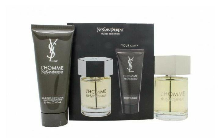Yves Saint Laurent L'Homme Gift Set 100ml EDT + 100ml Shower Gel