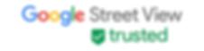 Google street view trusted logo
