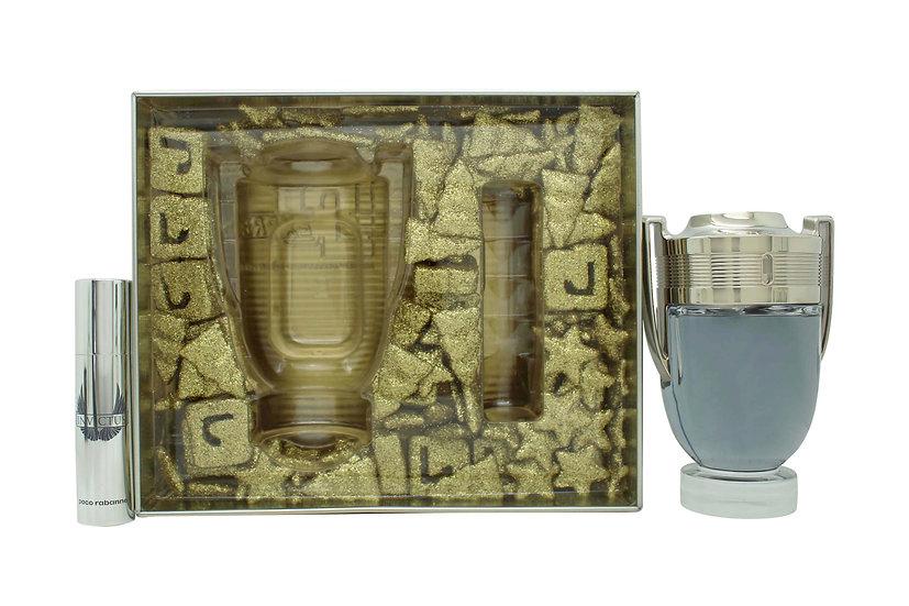 Paco Rabanne Invictus Gift Set 100ml EDT + 10ml EDT - Christmas Edition