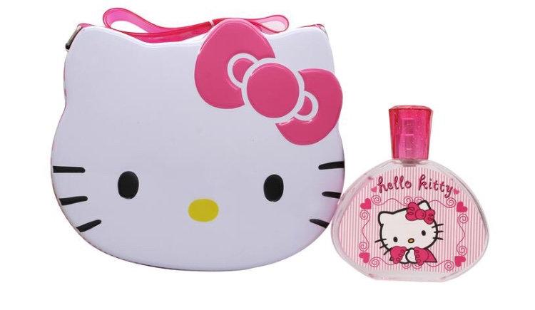 Hello Kitty Gift Set 100ml EDT + Metal Lunch Box