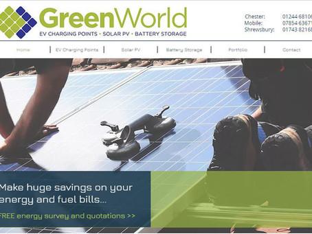 GreenWorld UK Ltd new website goes live!