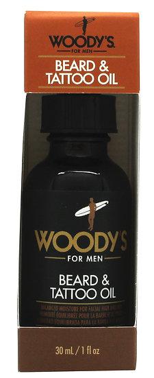 Woody's Grooming Beard & Tattoo Oil 30ml