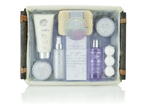 Style & Grace La Villa Home Spa Hamper Gift Set 11 Pieces