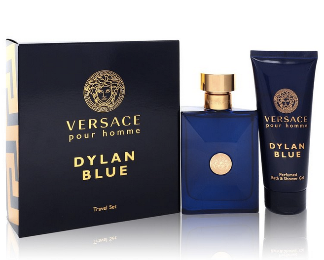 Versace Pour Homme Dylan Blue Gift Set 100 ml EDT + 100 ml Shower Gel