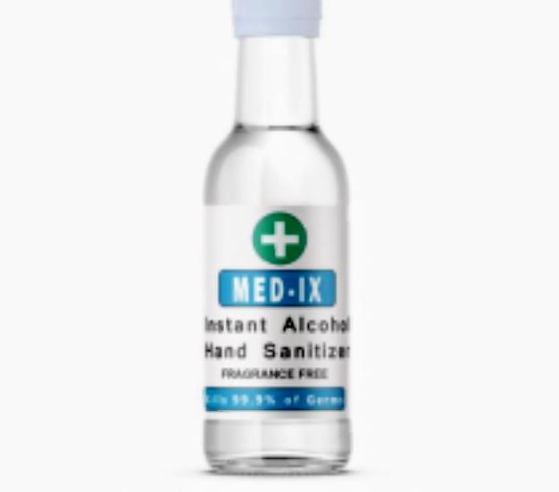 Med-Ix Instant 70% Alcohol Hand Sanitiser 50ml