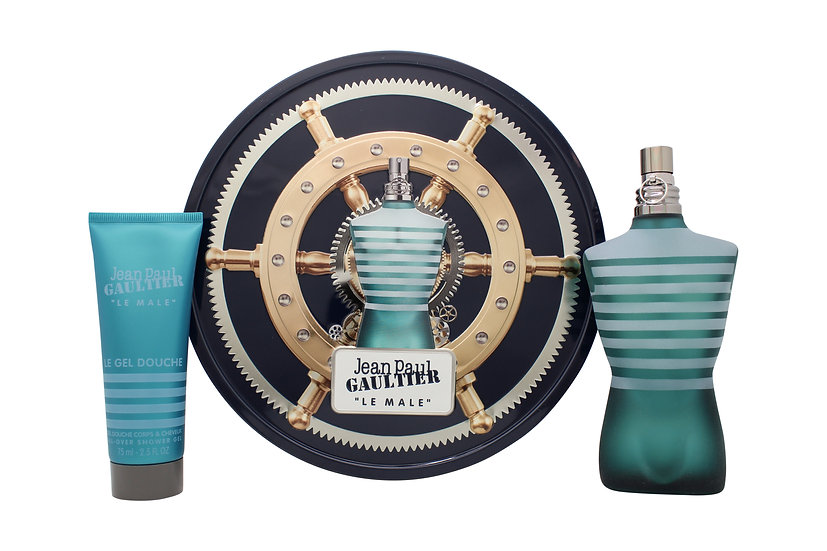 Jean Paul Gaultier Le Male Gift Set 125ml EDT + 75ml All-Over Shower Gel