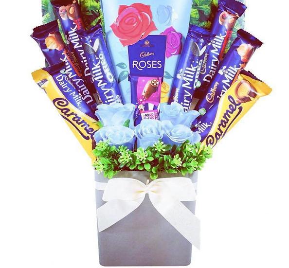 The 'Cadbury Roses' Chocolate Bouquet