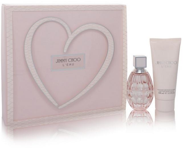 Jimmy Choo L'eau Gift Set 60 ml Eau De Toilette Spray + 100 ml Body Lotion