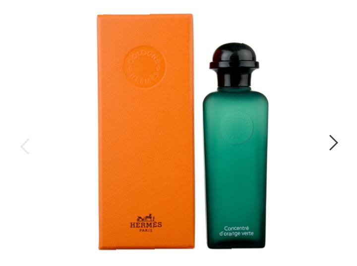 Hermès Eau d'Orange Verte Eau de Cologne 100ml Spray Refillable
