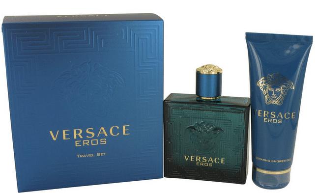 Versace Eros Gift Set 100 ml Eau De Toilette Spray + 100 ml Shower Gel