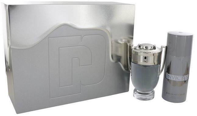 Invictus Gift Set - 100 ml Eau De Toilette Spray + 150 ml Deodorant Spray