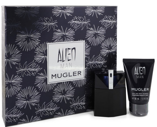 Mugler Alien Man 50 ml EDT Spray Refillable 50 ml Hair & Body Shampoo