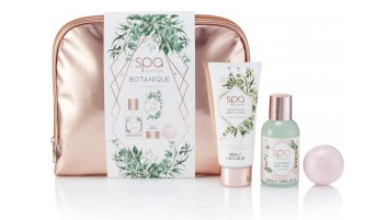 Style & Grace Spa Botanique Cosmetic Bag Gift Set