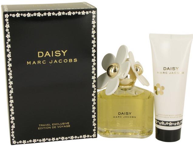 Daisy Gift Set 100 ml Eau De Toilette Spray + 75 ml Body Lotion