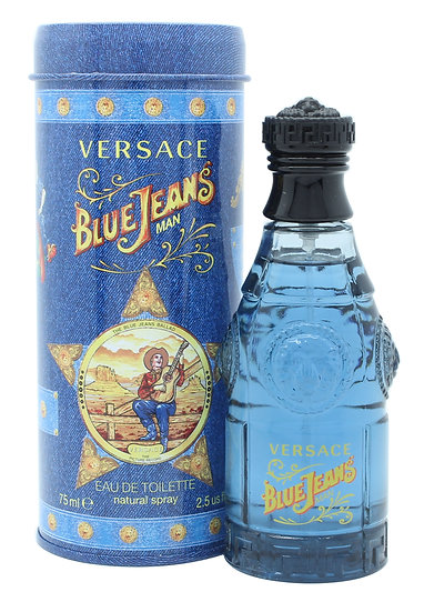 Versace Blue Jeans Eau De Toilette (New Packaging)