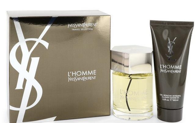 Yves Saint Laurent L'homme Gift set  100 ml EDT Spray + 100 ml Shower Gel