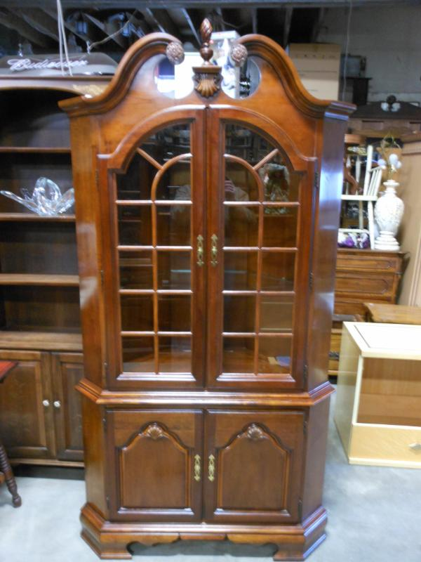 CHERRY LEXINGTON CURIO CABINET