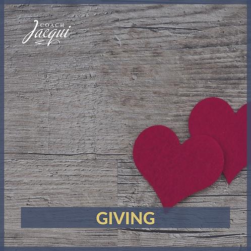 Giving - Abundant Live Principle | .mp3 download