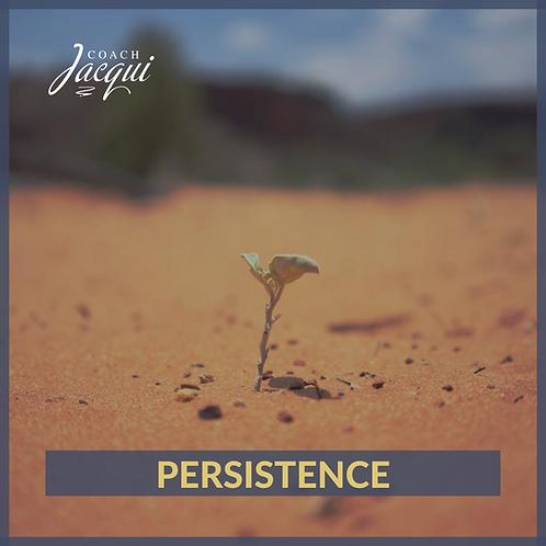 Persistence - Abundant Life Principle | .mp3 download